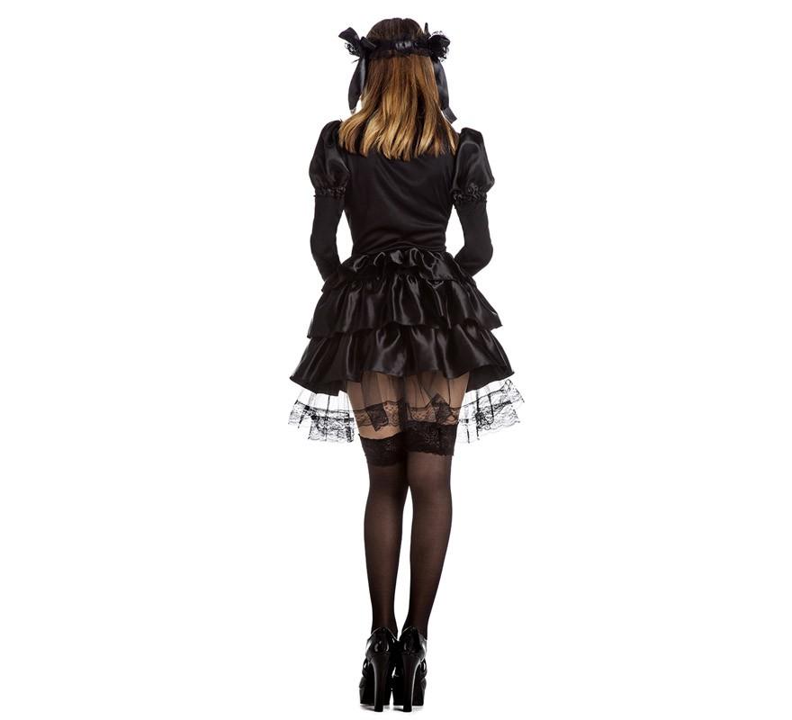 Disfraz de Lolita Gótica para mujer-B