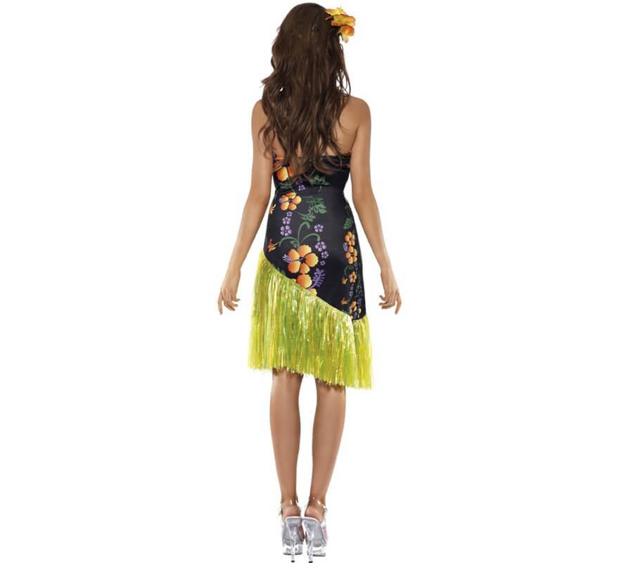 Disfraz de Luau Hawaiano para mujer-B