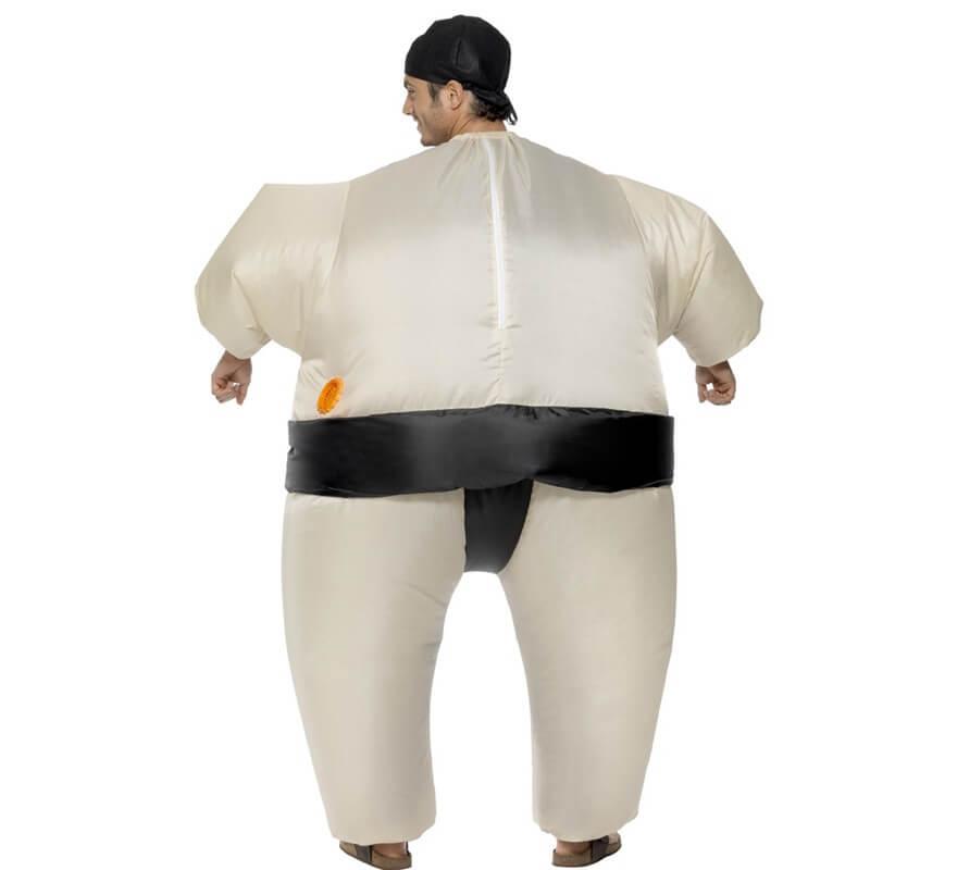 Disfraz de Luchador de Sumo Hinchable para adultos-B