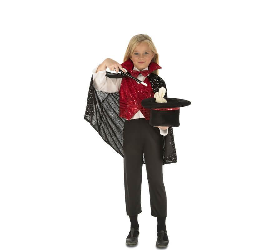 Disfraz de Mago con accesorios para niños-B