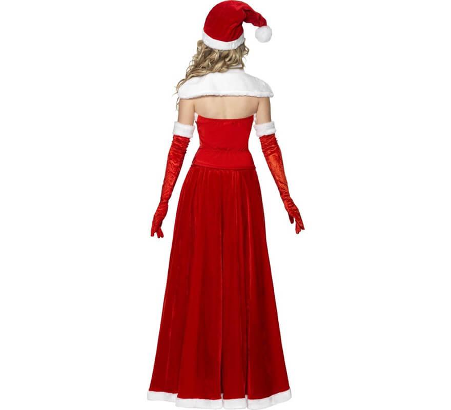 Disfraz de Mamá Noel con Corset para mujer-B