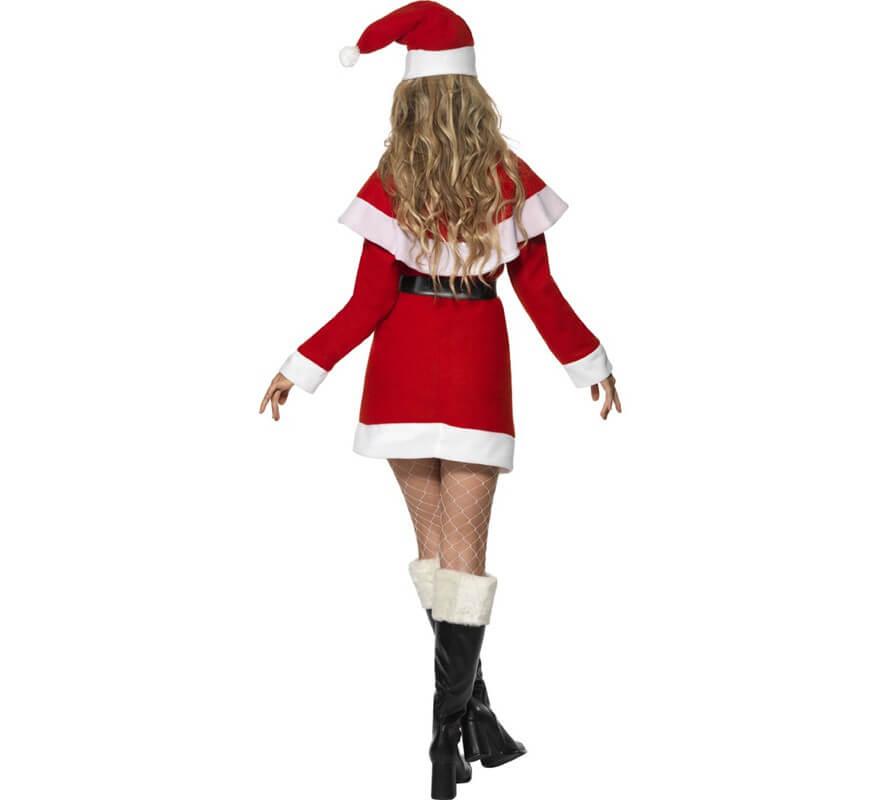 Disfraz de Mamá Noel para mujer-B