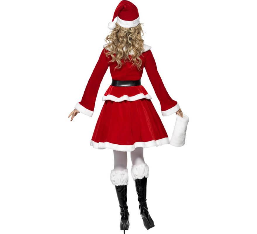 Disfraz de Mamá Noel para Mujer para Navidad-B