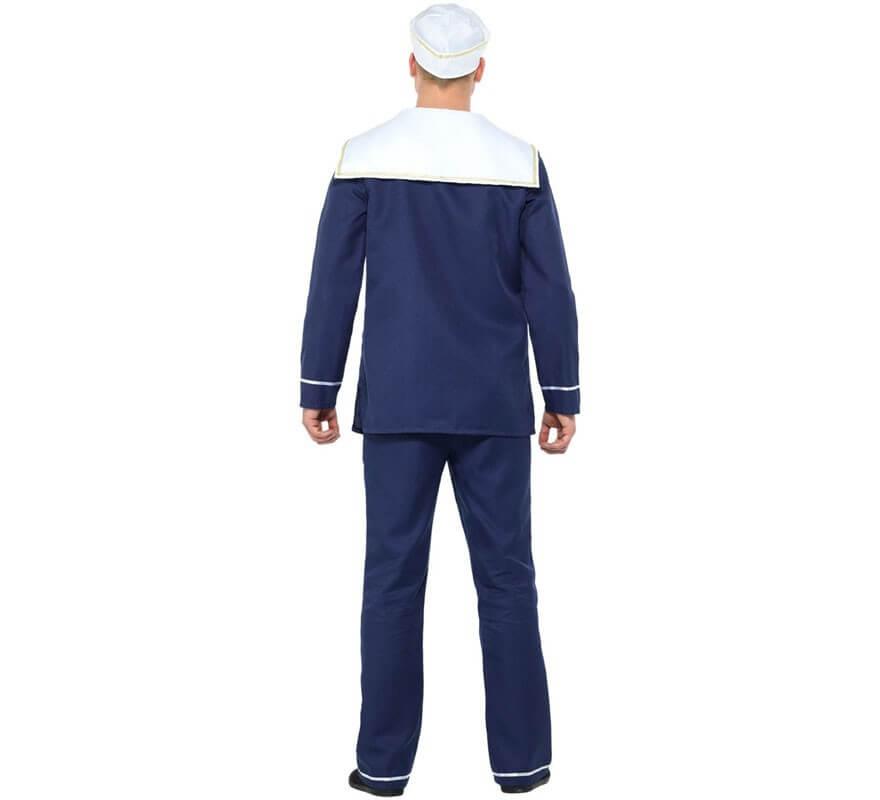 Disfraz de Marinero Azul para hombre-B