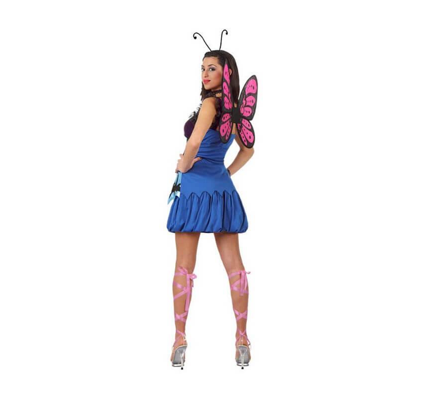 26c09cabc Disfraz de Mariposa Salvaje para mujer-B