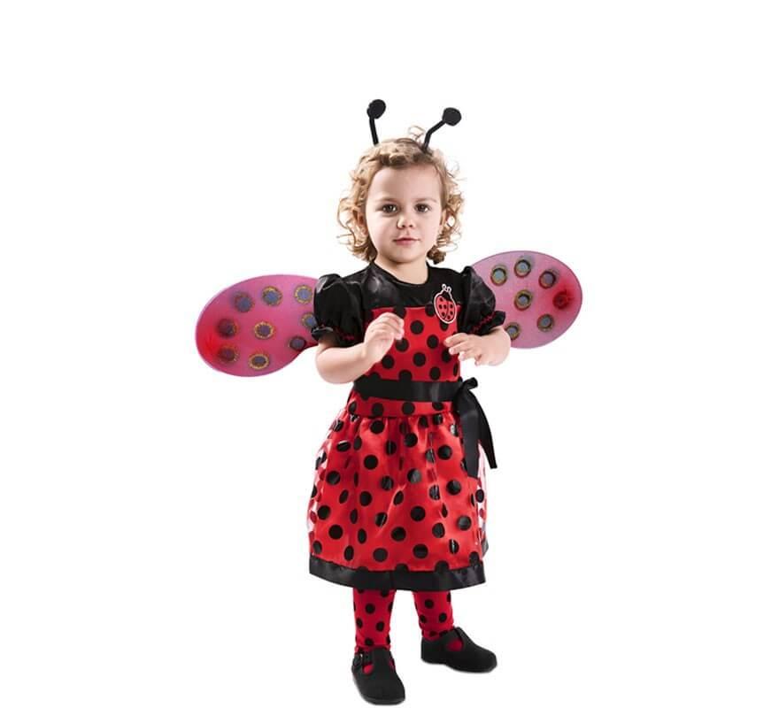 Disfraz de Mariquita para niñas y bebé-B