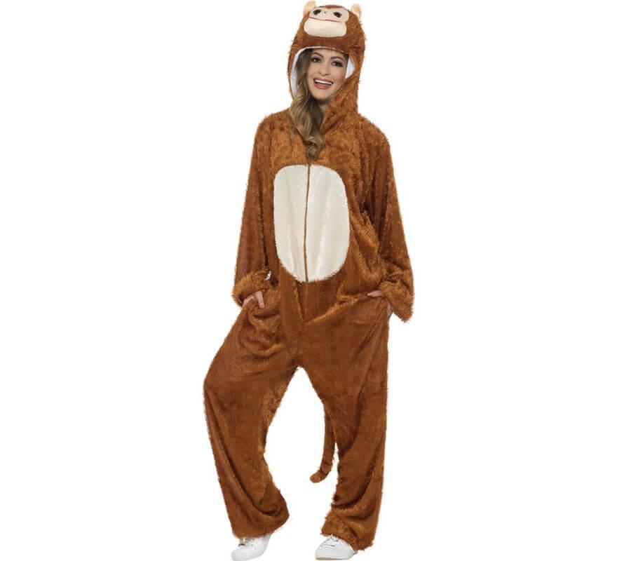 Disfraz de Mono Chimpancé para adulto-B