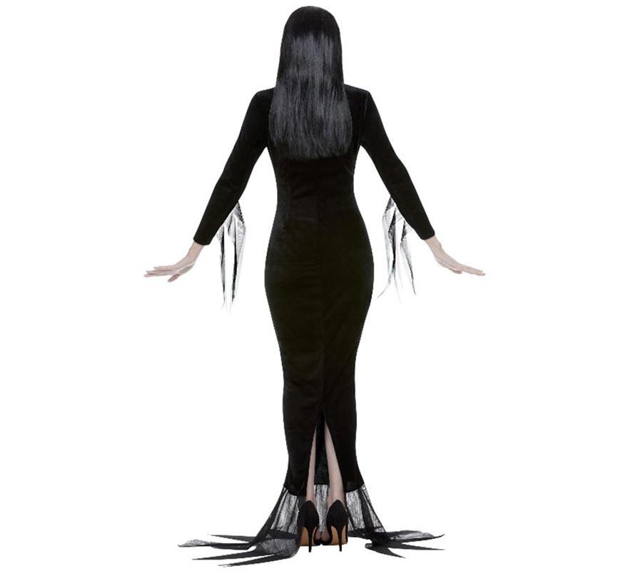 Disfraz de Morticia de la Familia Addams para mujer-B