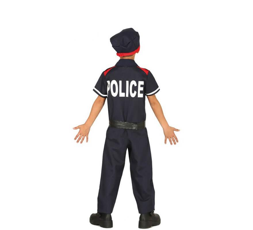 Disfraz de Mosso d'Esquadra para niños-B