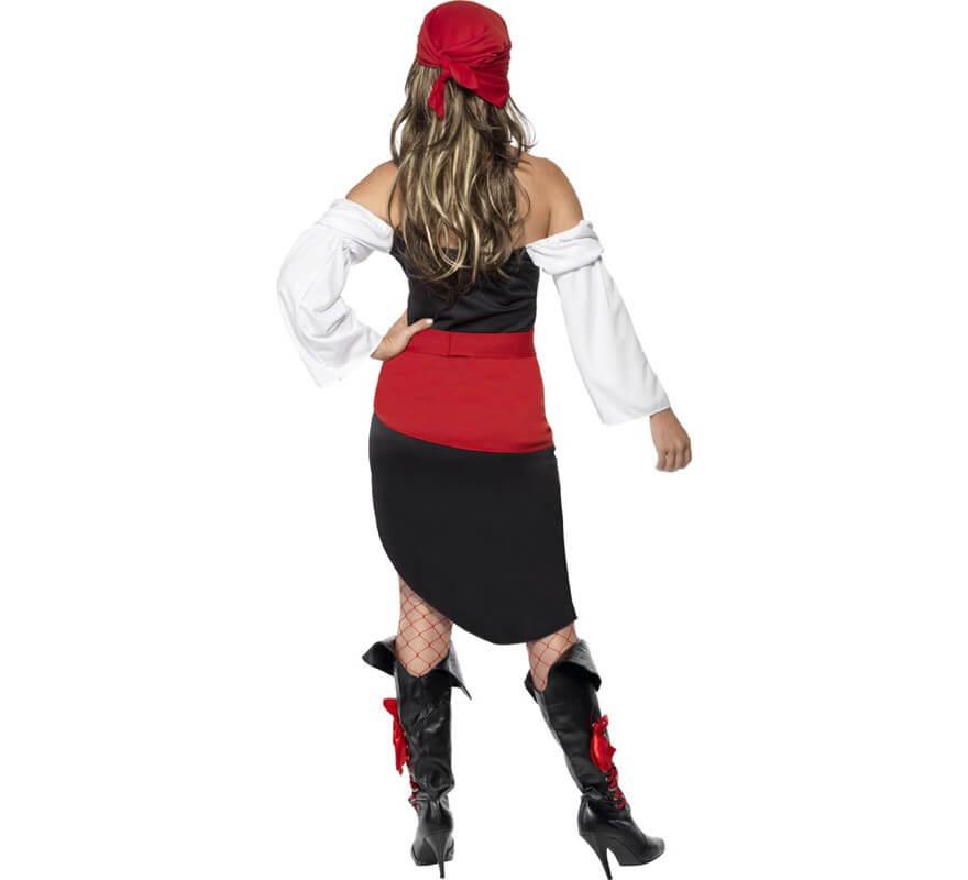 Disfraz de Mujer Pirata Atrevida-B
