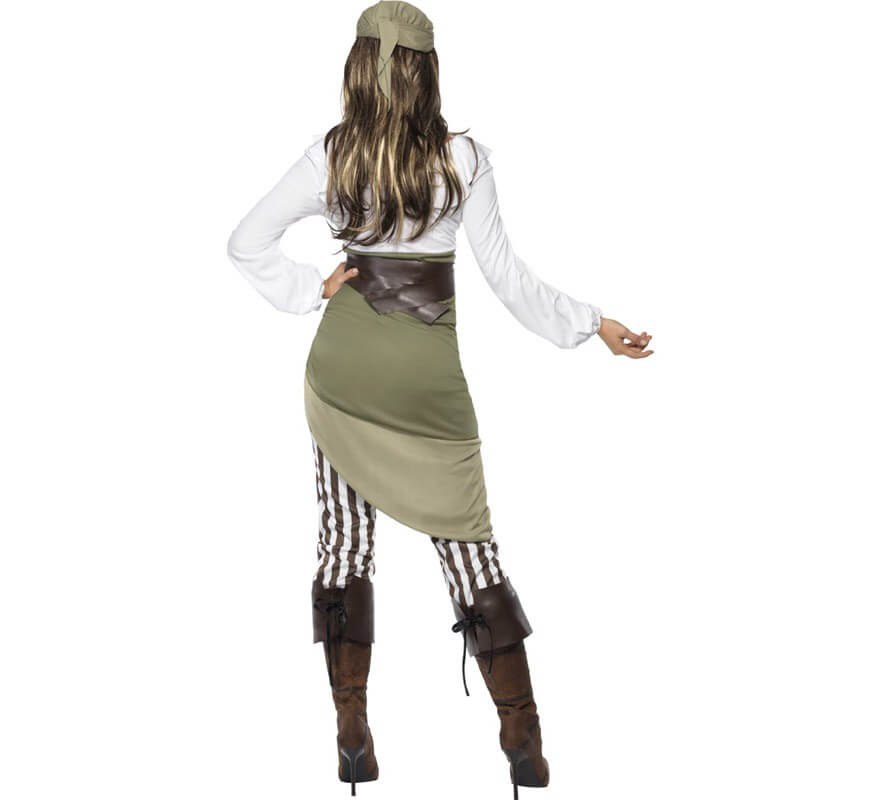 Disfraz de Mujer Pirata Encantadora-B