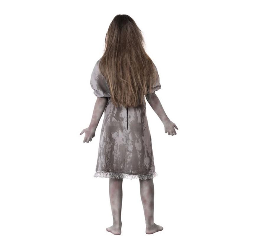Disfraz de Niña muerta para niña-B