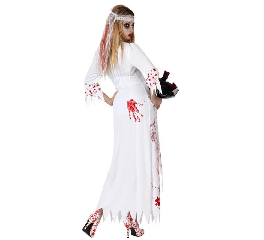 Disfraz de Novia Muerta para mujer-B