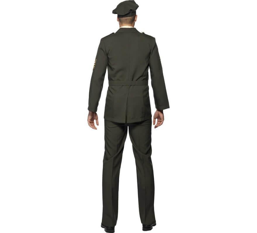 Disfraz de Oficial en Tiempos de Guerra para Hombre-B