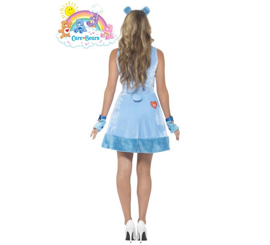 Disfraz de Oso Amoroso azul para mujer-B
