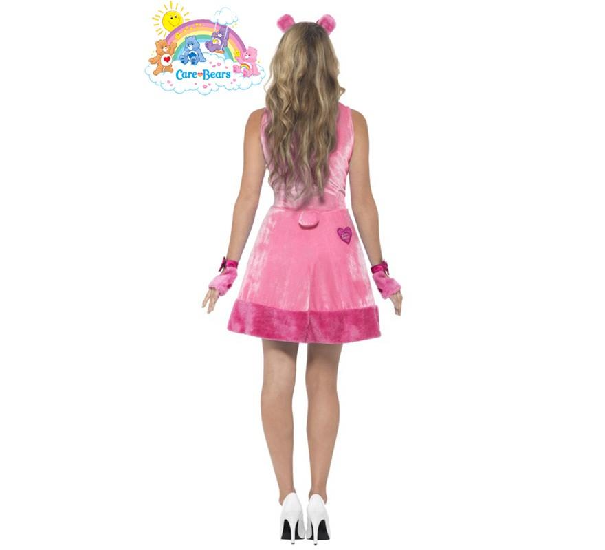 Disfraz de Oso Amoroso rosa para mujer-B