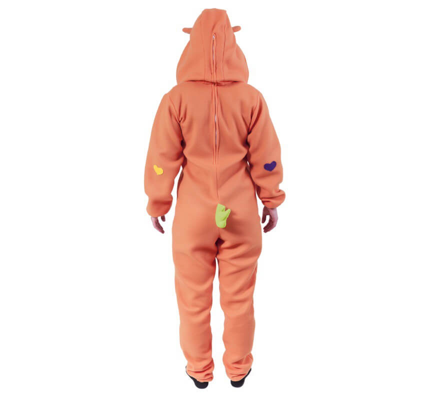 Disfraz de Oso Cariñoso Naranja para adultos-B