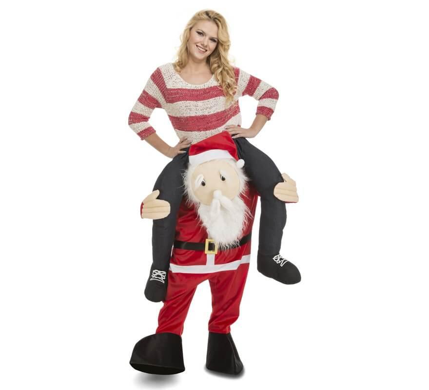 Disfraz de Papá Noel a hombros para adultos-B