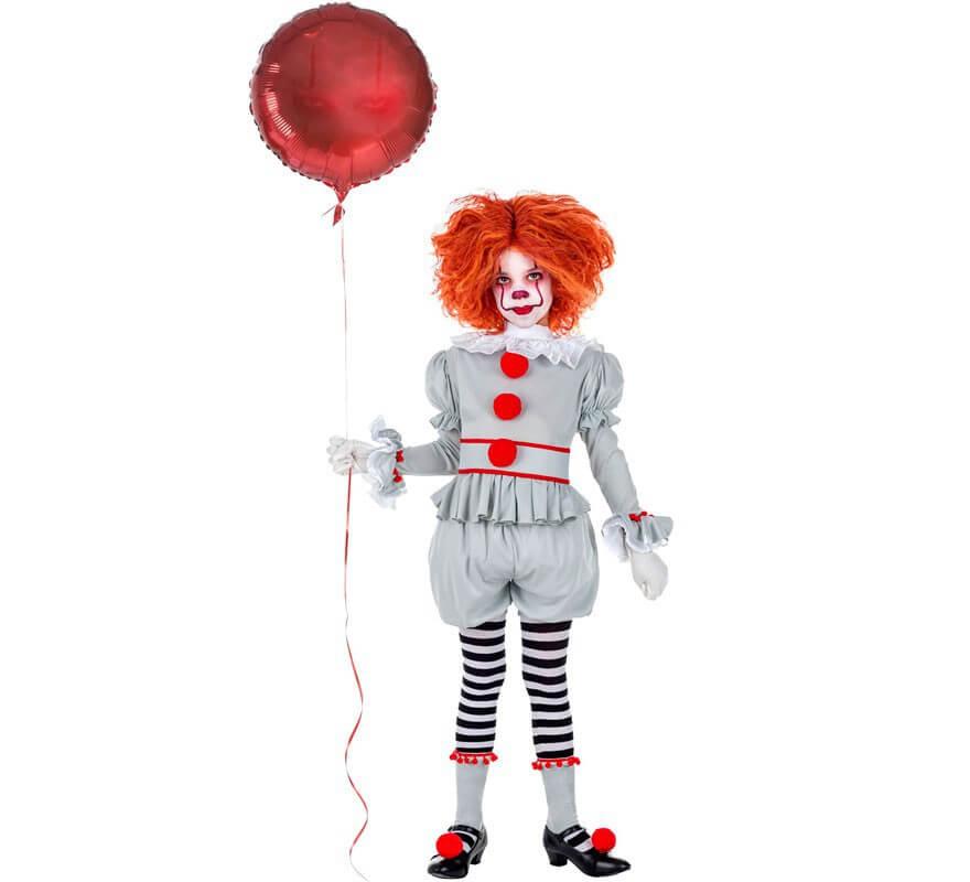 Disfraz de Payaso Terrorífico infantil-B