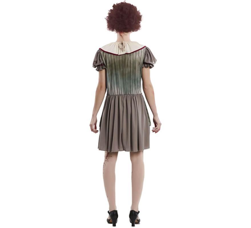 Disfraz de Payasa del Terror para mujer-B