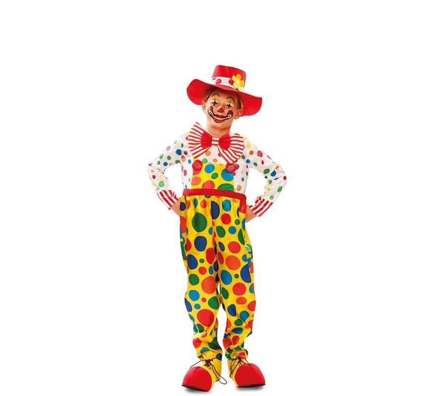 Disfraz de Payasito con Topos para niño-B