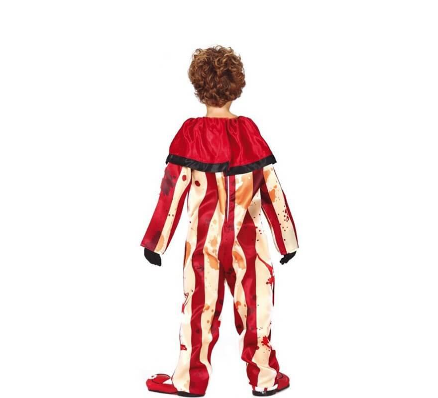 Disfraz de Payaso a Rayas para niño-B