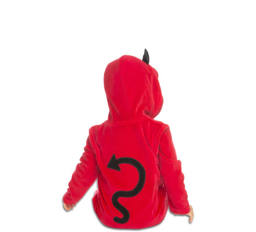 Disfraz de Pequeño Diablillo para bebé-B