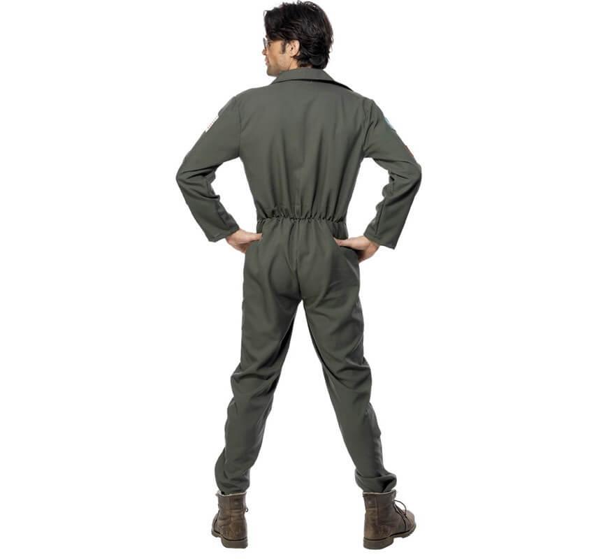 Disfraz de Piloto de Avión Top Gun para hombre-B
