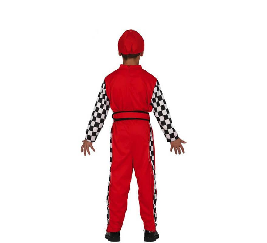 Disfraz de Piloto de Carreras para niño-B