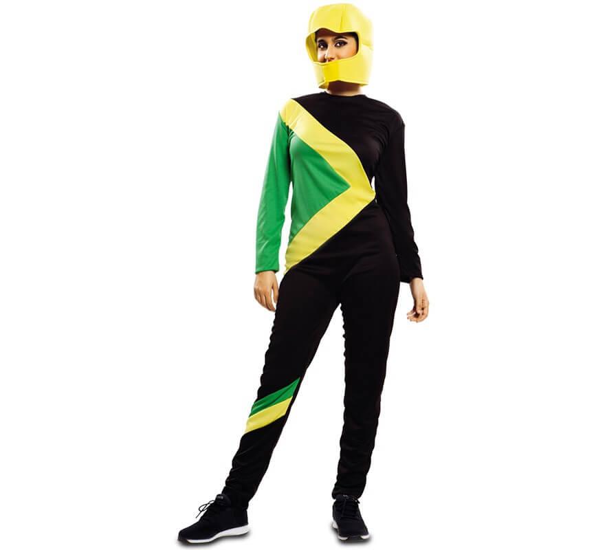 Costume da pilota slalom gigante giamaicano per adulti-B