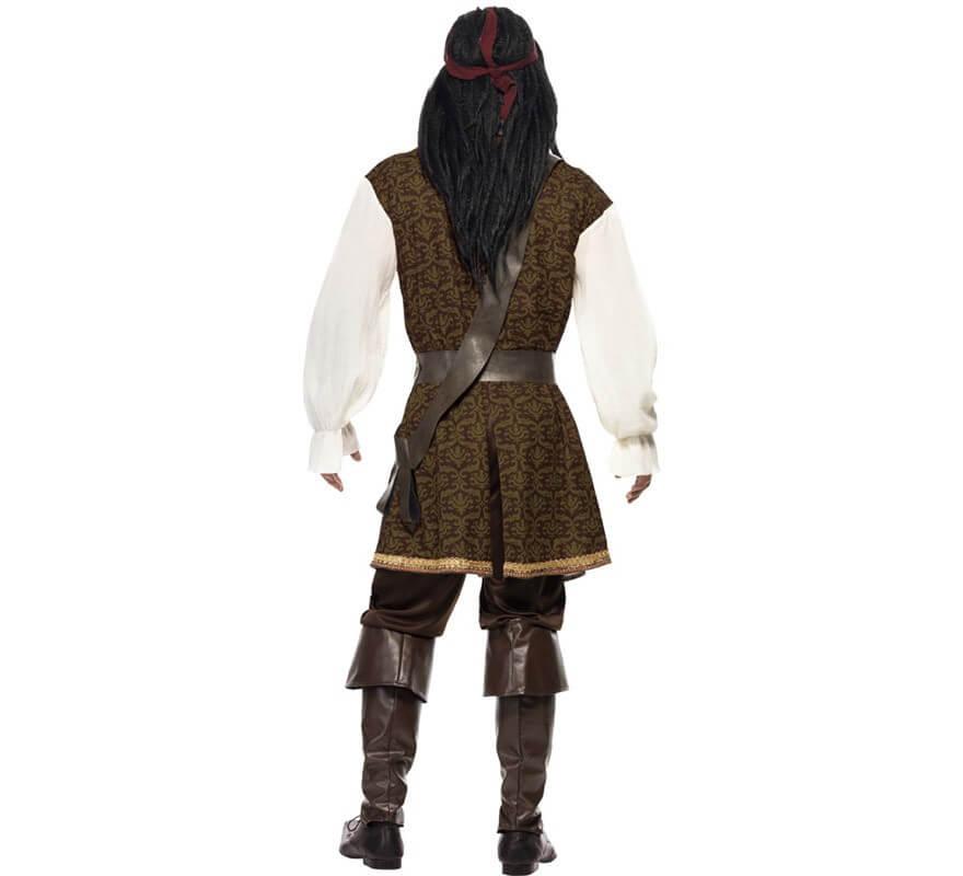Disfraz de Pirata Guapo de Alta Mar para hombre-B