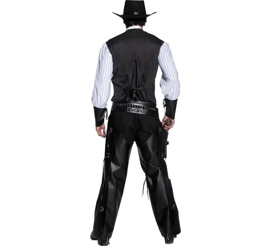 Disfraz de Pistolero del Oeste para hombre-B