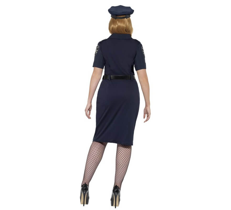 Disfraz de Policía de Nueva York para mujer-B
