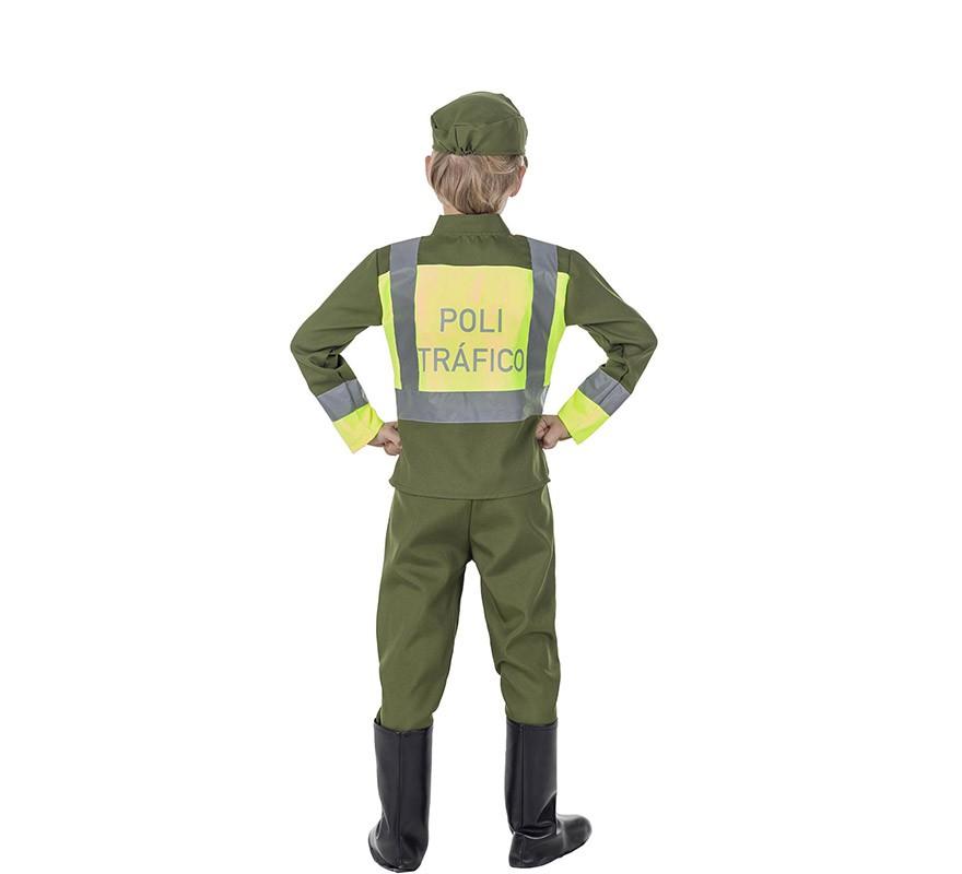 Disfraz de Policía de Tráfico para niño-B