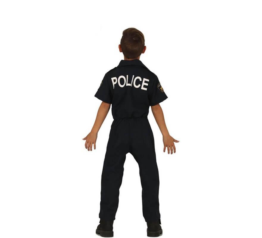 Disfraz de Policía Local para niños-B