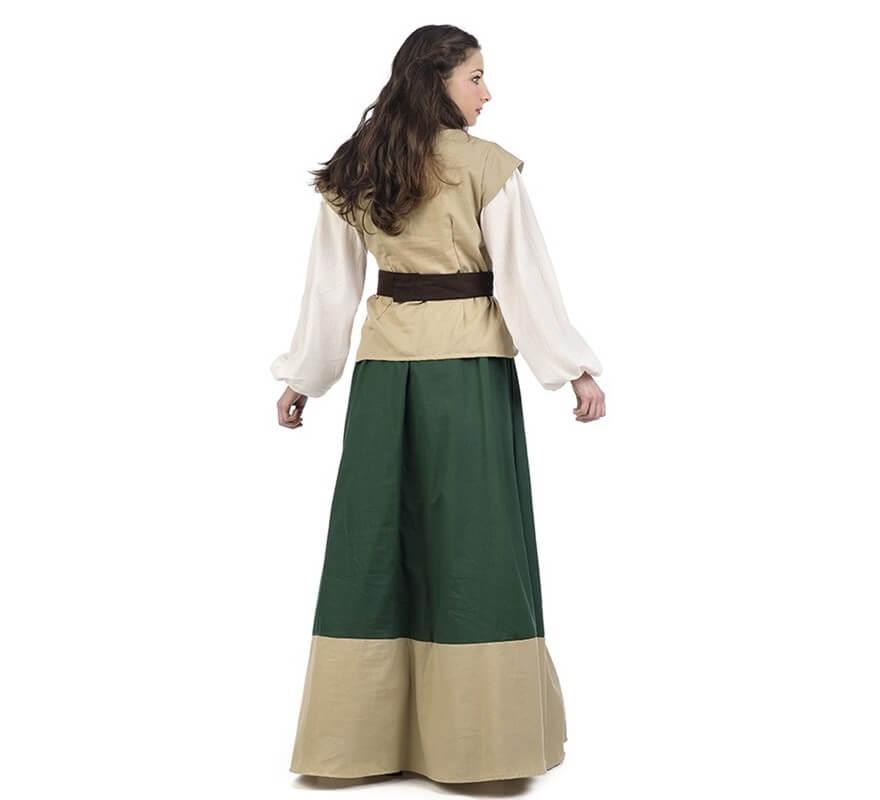 Disfraz de Posadera Medieval Juana para mujer-B