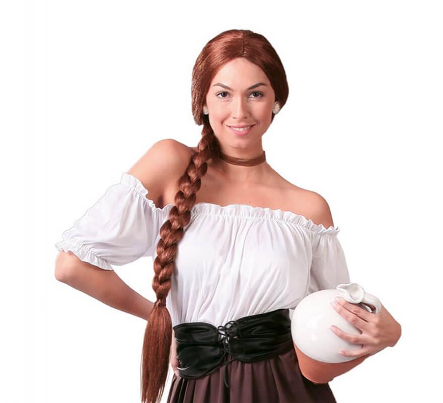 Disfraz de Posadera o Mesonera para mujer adulta-B