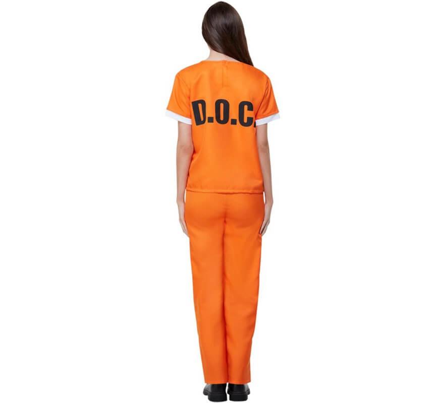 Disfraz de Presa de Orange is The New Black para mujer-B