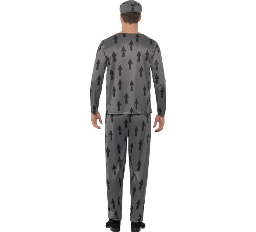 Disfraz de Presidiario Lawbreaker para Hombre-B