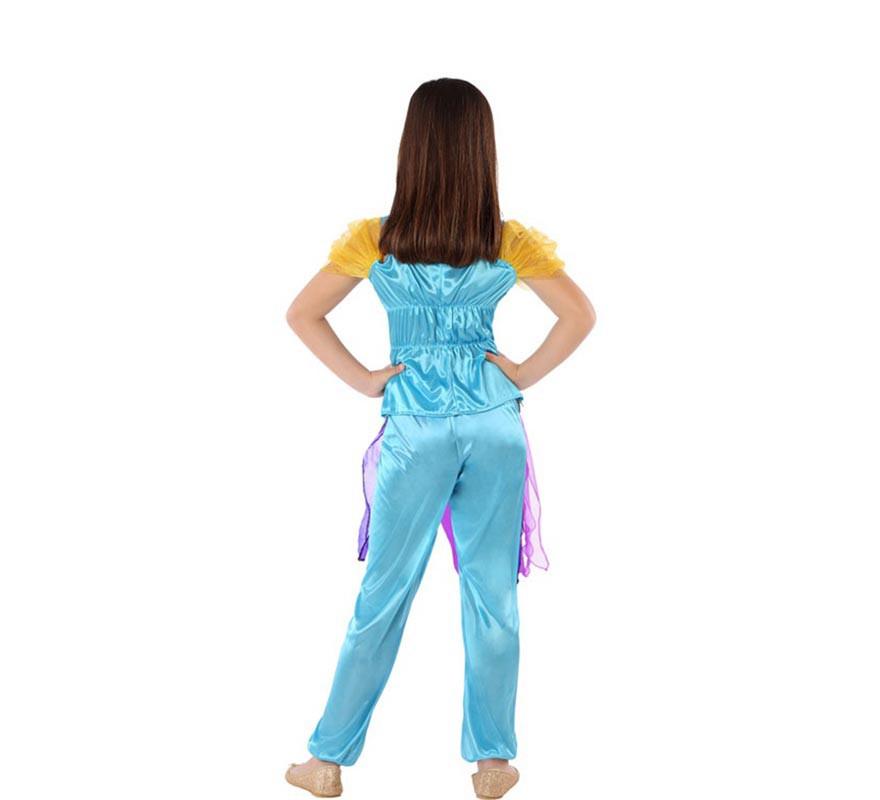 Disfraz de Princesa Árabe Azul para niña-B