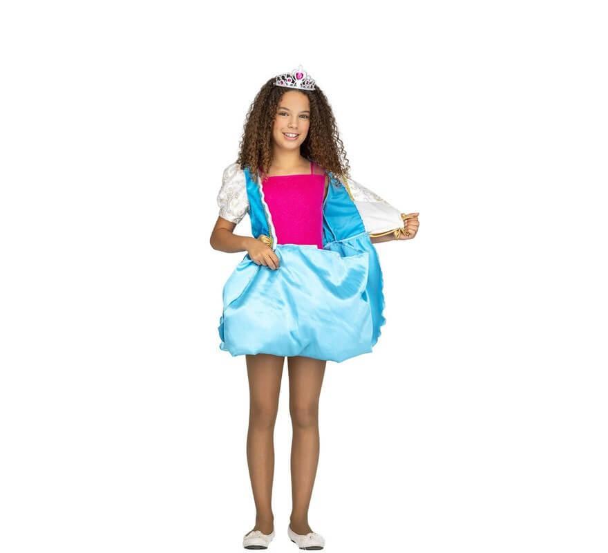 Disfraz de Princesa Mágica Transformable 4 en 1 para niña-B