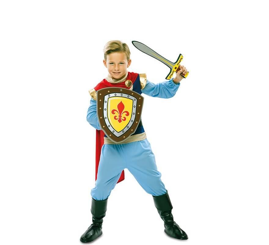 Disfraz de Príncipe Azul para niño-B