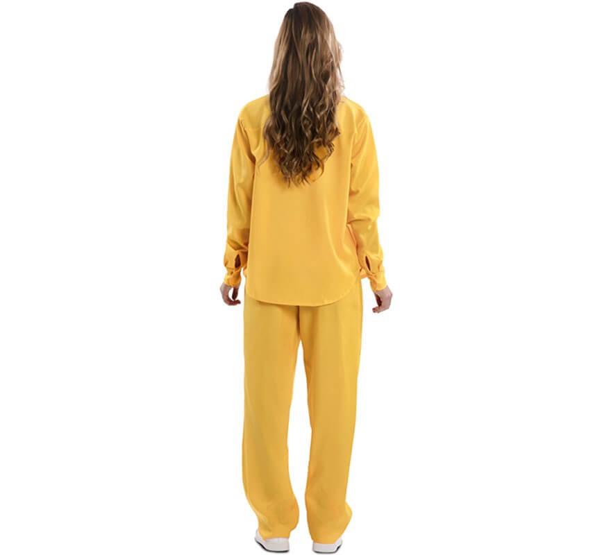 Disfraz de Prisionera Amarilla para mujer-B