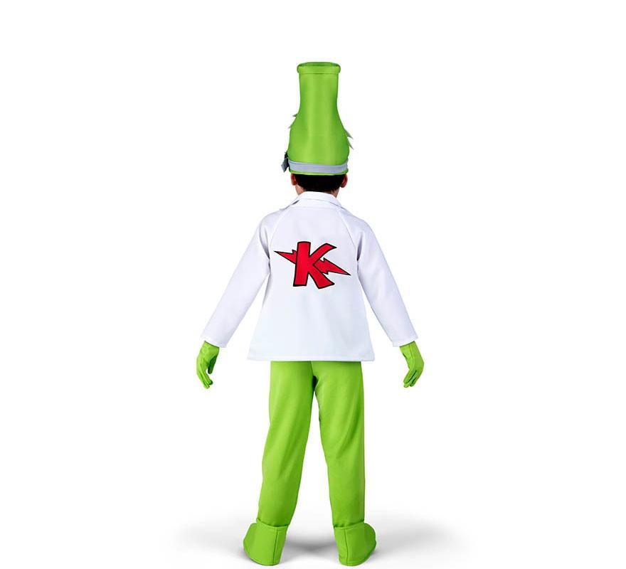 Disfraz de Profesor K de SuperZings para niños-B