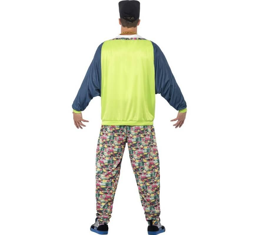 ba06ddb3e87b4 Disfraz de Rapero años 80 para hombre-B