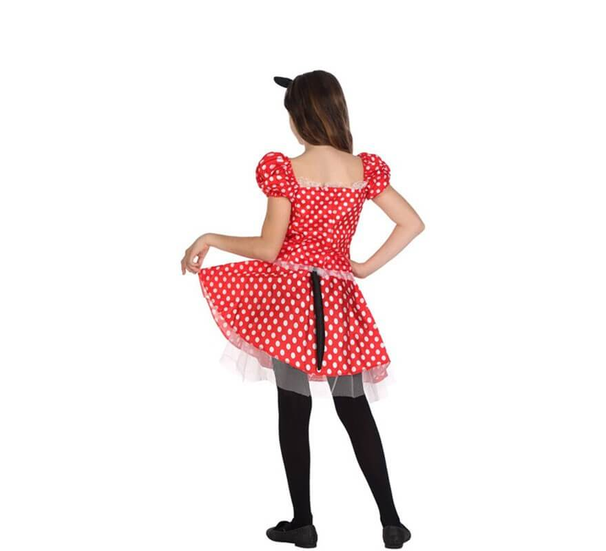 Disfraz de Ratoncita con Lunares para niña-B
