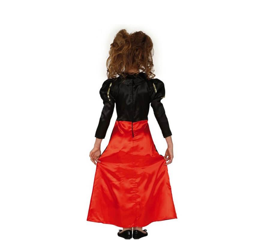 Disfraz de Reina Corazones para niña-B