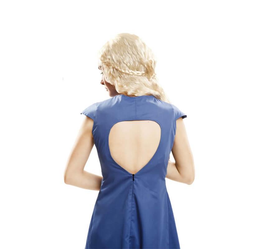 Disfraz de Madre de Dragones azul para mujer-B