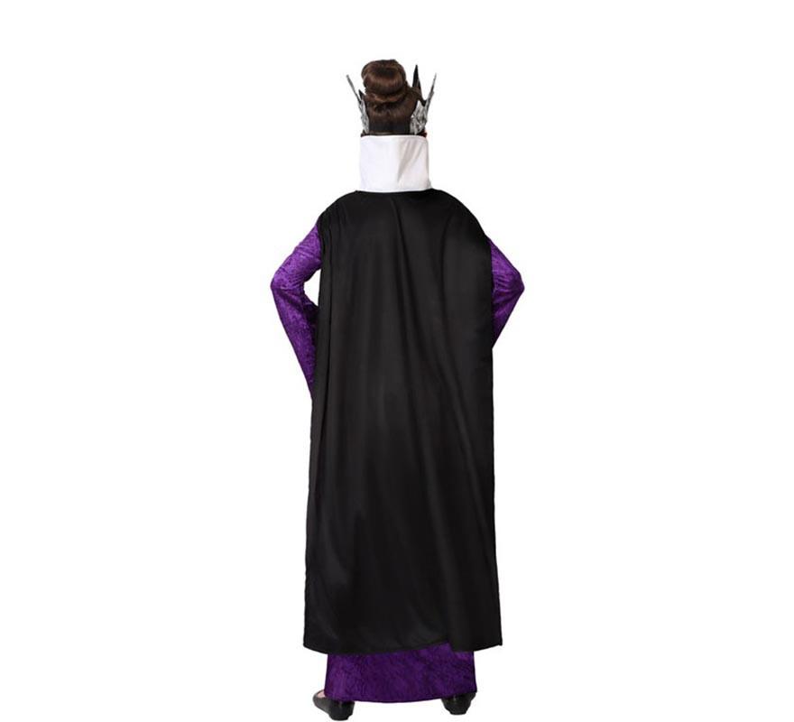 Disfraz de Reina Malvada Morada para niña-B