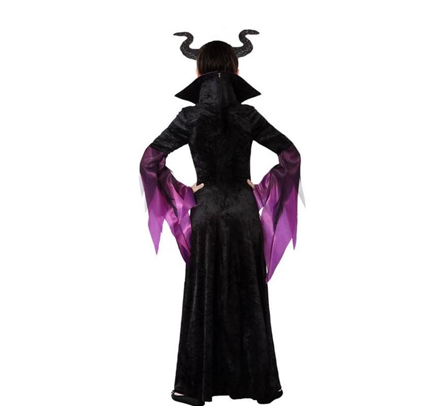 Disfraz de Reina Malvada para niña-B